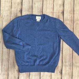 Boy's Crewcuts Blue Cotton Sweater Size 8